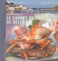 Le carnet de cuisine de Belle-Ile-en-Mer