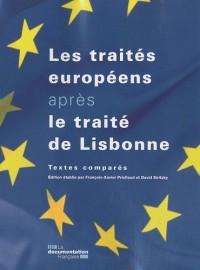 Les traités européens après le traité de Lisbonne - textes comparés