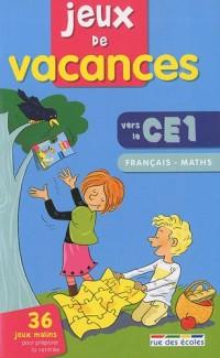 Jeux de vacances Français-maths vers le CE1