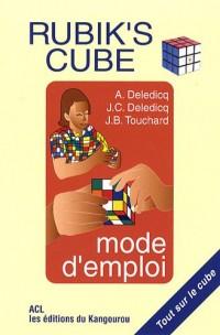 Rubik's Cube : Mode d'emploi