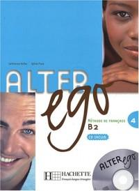 Alter ego 4 : Méthode de français (1CD audio)