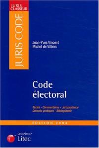 Juris classeur, édition 2004 : Code électoral
