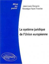 Le système juridique de l'Union européenne