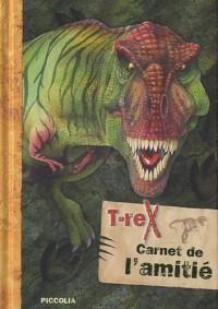 Carnet de l'amitié T-rex