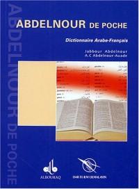 Abdelnour poche / arabe-français