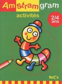 Activités Millepattes 2-4 ans