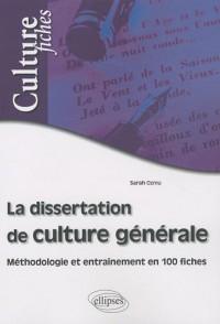 La dissertation de culture générale