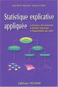 Statistique explicative appliquée