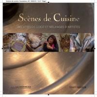 Scènes de cuisine, recettes de coco et mélanges d'artistes