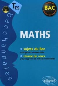 Mathématiques Tle ES : Enseignement obligatoire et de spécialité