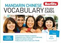 Berlitz Language - Mandarin Chinese Vocabulary Study Cards