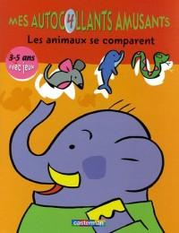Les animaux se comparent