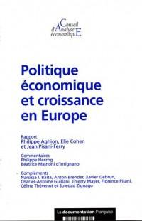 Politiques économiques et croissance (CAE n. : 59)