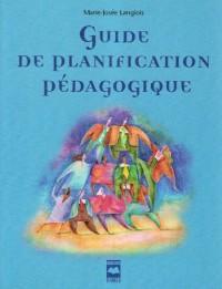 Guide de planification pédagogique