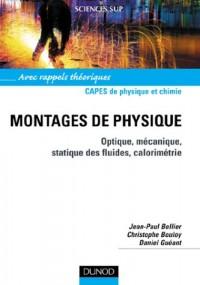 Capes de Physique et Chimie - Montages de physique - Optique, mécanique, statique des fluides