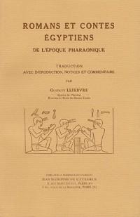 Romans et contes égyptiens de l'époque pharaonique