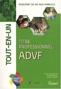 Titre professionnel ADVF, tout-en-un