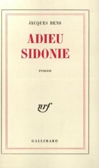 Adieu Sidonie
