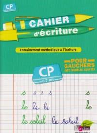 Cahier d'écriture pour gauchers CP