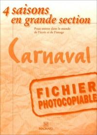 4 Saisons Gs Carnaval Fichier Photocopiable