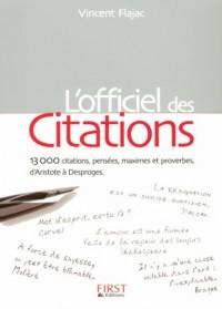 L'Officiel des Citations
