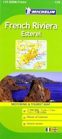 Michelin Zoom France: French Riviera, Esterel