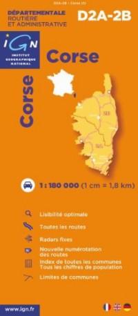 Corse : 1/180000