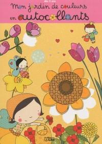 Mon jardin de couleurs en autocollants : Les fleurs