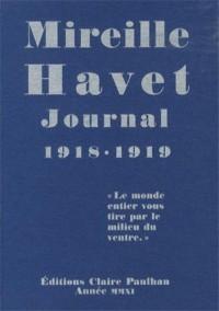 Journal 1918-1919 :