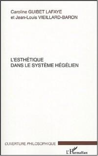 L'esthétique dans le système hégélien