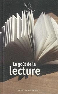 Le goût de la lecture