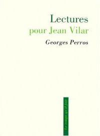 Lectures pour Jean Vilar