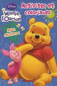 Winnie l'Ourson Activités et coloriages