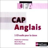 ANGLAIS CAP EN CFA 1 CD AUDIO POUR LA CLASSE 2008 Livre scolaire