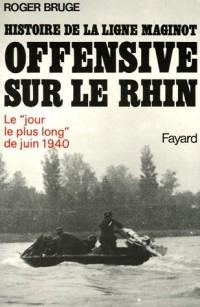 Offensive sur le Rhin