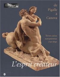 L'esprit créateur de Pigalle à Canova : Terres cuites européennes, 1740-1840