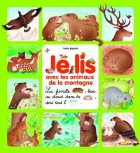 Je lis avec les animaux de la montagne - Dès 3 ans ( périmé )
