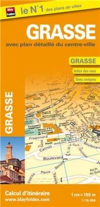 Plan de Grasse - Avec plan détaillé du centre-ville