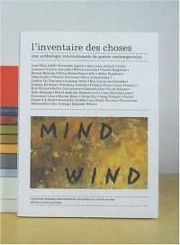 L'inventaire des choses : Une anthologie internationale de poésie contemporaine