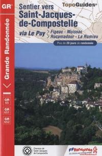 Sentier Saint-Jacques-de-Compostelle : Via le Puy: Figeac, Moissac, >Rocamadour, La Romieu