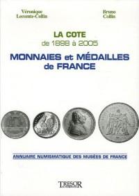 Monnaies et médailles de France : La cote de 1998 à 2005