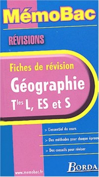 MEMO REVISION GEOGRAPHIE TERM.    (Ancienne Edition)
