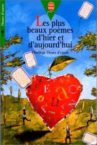 Poche jeunesse : fleurs d'encre - les plus beaux poemes d'hier et d'aujourd'hui