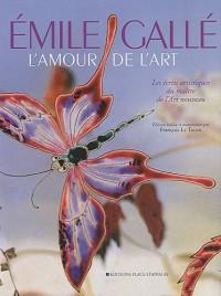 L'amour de l'art : Les écrits artistiques du maître de l'Art nouveau