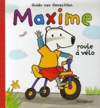 Maxime roule à vélo