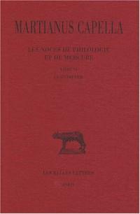 Les noces de Philologie et de Mercure : Tome 6 Livre VI, La géométrie
