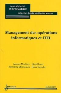 Management des opérations informatiques et ITIL
