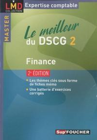 Le meilleur du DSCG2 : Finance
