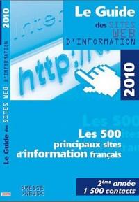 Le guide des sites web d'information 2010