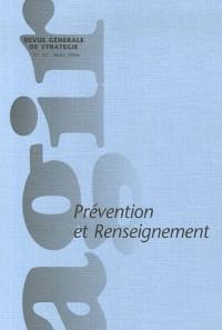Agir, N° 25 Mars 2006 : Prévention et renseignement